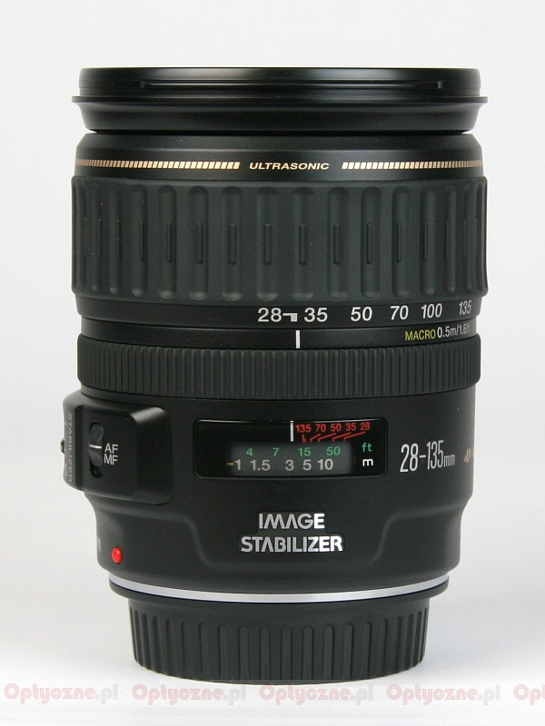 canon 28 135mm lens weight loss