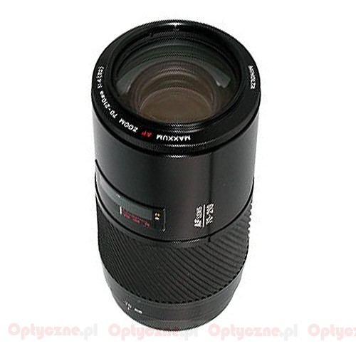 Minolta AF 70-210mm f 4 Macro Zoom Lens Beercan fits Sony Alpha KM ...