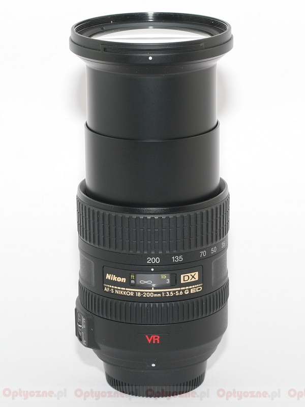 Nikon Nikkor AF S DX mm f G IF ED VR lens specifications