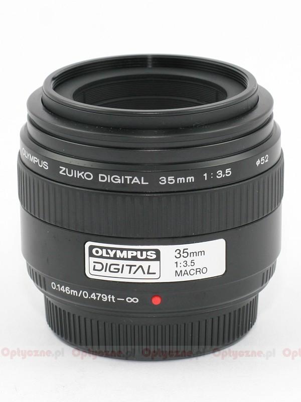 Olympus Zuiko Digital 35 mm f/3 5 Macro review