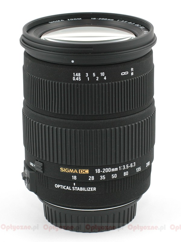 Sigma 18-200mm f/3.5-6.3 DC OS HSM review: Digital Photography Review