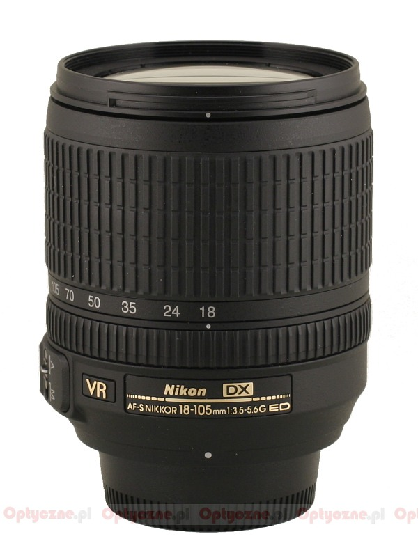 Nikon Nikkor AF S DX mm f VR ED lens specifications
