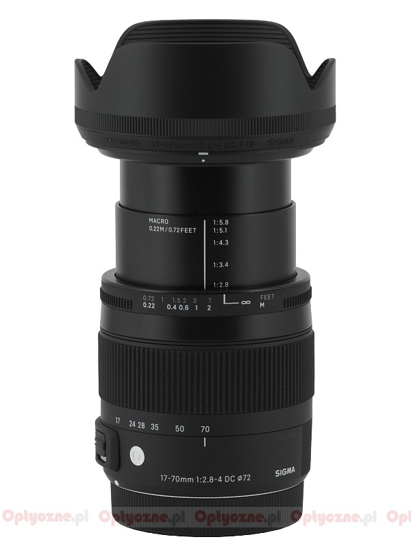 sigma c 17 70 mm f 2 8 4 0 dc macro os hsm review pictures and parameters. Black Bedroom Furniture Sets. Home Design Ideas