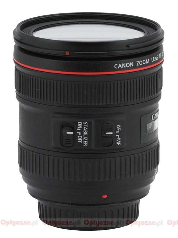 ef 24 70mm f 4l is usm lens review