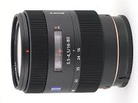 Lens Sony Carl Zeiss Vario-Sonnar T* DT 16-80 mm f/3.5-4.5