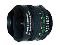 Lens CCCP MC Zenitar-N 16 mm f/2.8 Fish Eye