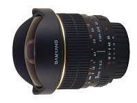 Lens Samyang 8 mm f/3.5 Aspherical IF MC Fish-eye