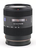 Sony Carl Zeiss Vario-Sonnar T* DT 16-80 mm f/3.5-4.5 - Pictures and parameters