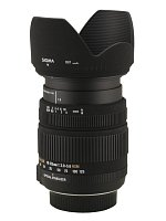 Sigma 18-125 mm f/3.8-5.6 DC OS HSM - Pictures and parameters