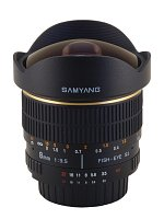 Samyang 8 mm f/3.5 Aspherical IF MC Fish-eye