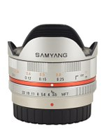 Samyang 7.5 mm f/3.5 UMC Fish-eye MFT - Pictures and parameters