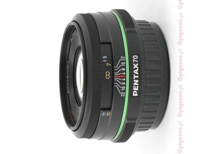 Pentax smc DA 70 mm f/2.4 Limited