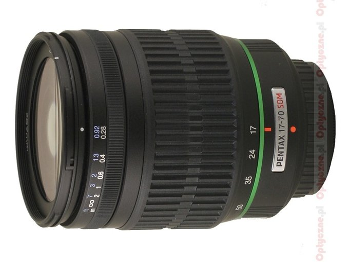 Pentax smc DA 17-70 mm f/4.0 AL [IF] SDM