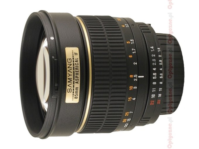 Samyang 85 mm f/1.4 Aspherical IF