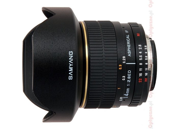 Samyang 14 mm f/2.8 IF ED MC Aspherical