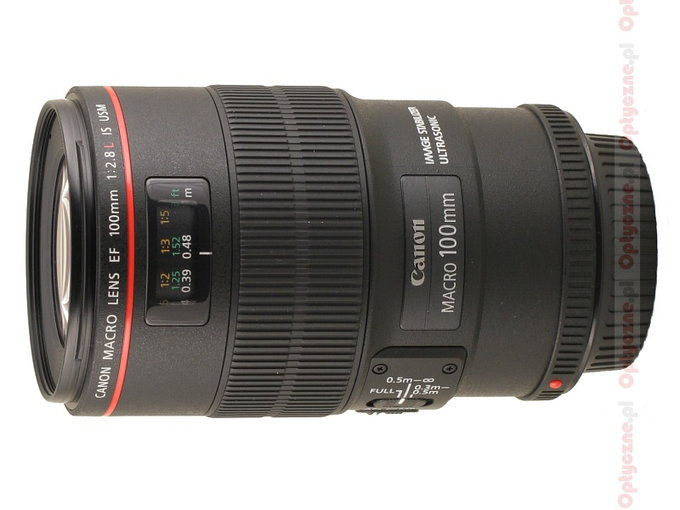 Canon EF 100 mm f/2.8 L Macro IS USM