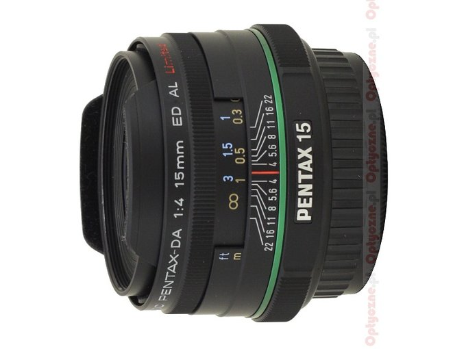 Pentax smc DA 15 mm f/4 ED AL Limited