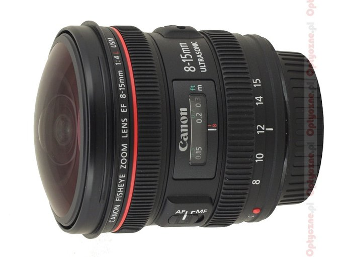 Canon EF 8-15 mm f/4 L Fisheye USM