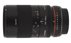 Samyang 100 mm f/2.8 ED UMC MACRO - lens review