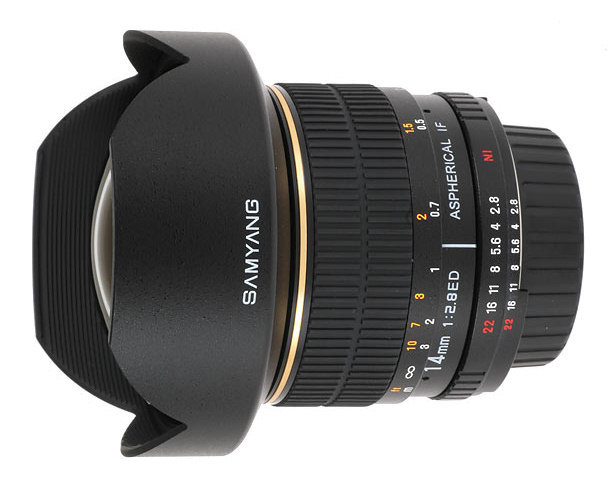 Samyang 14 mm f/2.8 IF ED MC Aspherical delayed