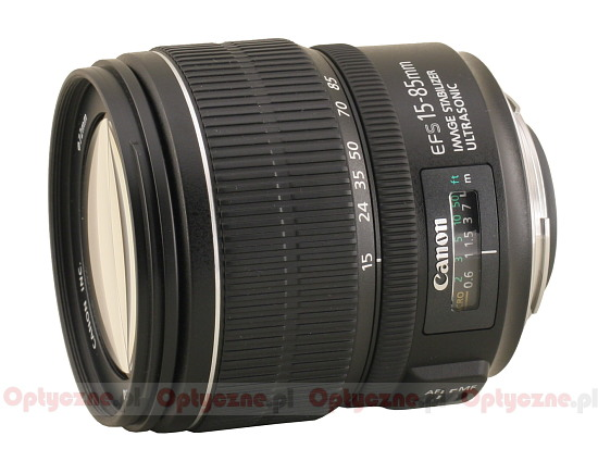 Canon EF-S 15-85 mm f/3.5-5.6 IS USM - lens review