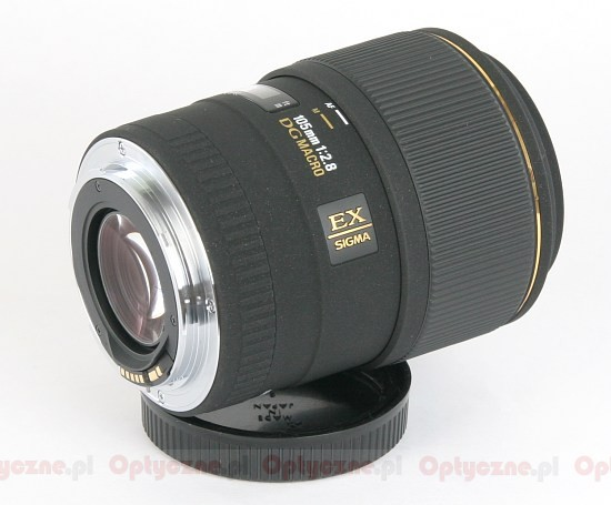 Sigma 105 mm f/2.8 EX DG Macro - Build quality