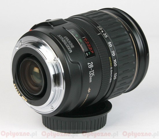 Canon EF 28-135 mm f/3.5-5.6 IS USM - Build quality