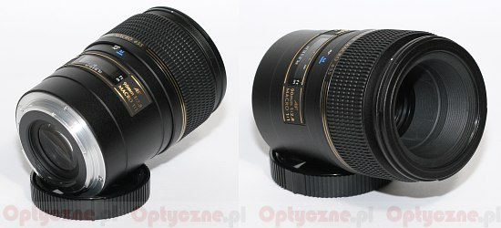 Tamron SP AF 90 mm f/2.8 Di Macro - Build quality