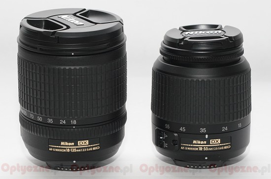 Nikon Nikkor AF-S DX 18-135 mm f/3.5-5.6G ED-IF - Build quality