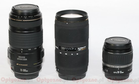 Canon EF 70-300 mm f/4-5.6 IS USM - Build quality and stabilization