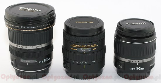 Tokina AT-X 107 DX AF Fish-Eye 10-17 mm f/3.5-4.5 - Build quality