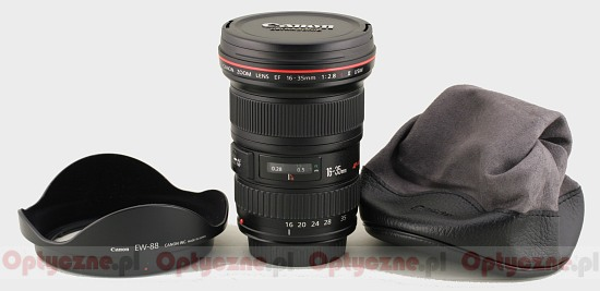 Canon EF 16-35 mm f/2.8L II USM - Build quality