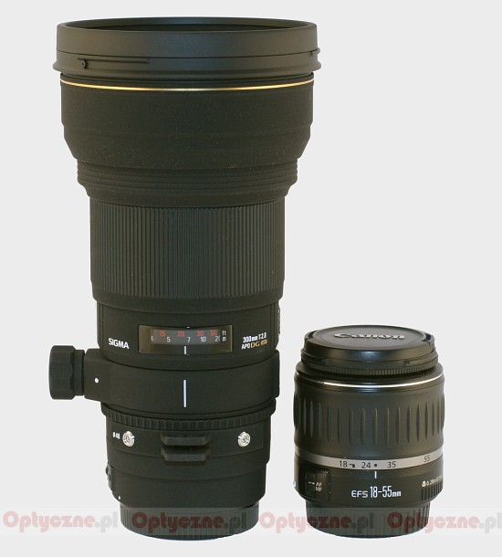 Sigma 300 mm f/2.8 EX DG HSM APO - Build quality