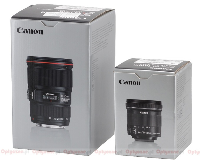 Canon EF-S 10-18 mm f/4.5-5.6 IS STM - Build quality and image stabilization