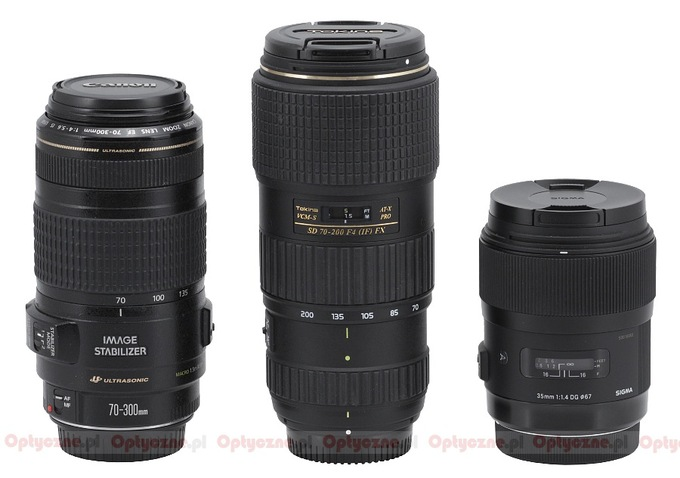 Tokina AT-X PRO FX SD 70-200 f/4 VCM-S - Build quality and image stabilization