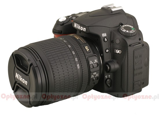 Nikon Nikkor AF-S DX 18-105 mm f/3.5-5.6 VR ED - Build quality and image stabilization