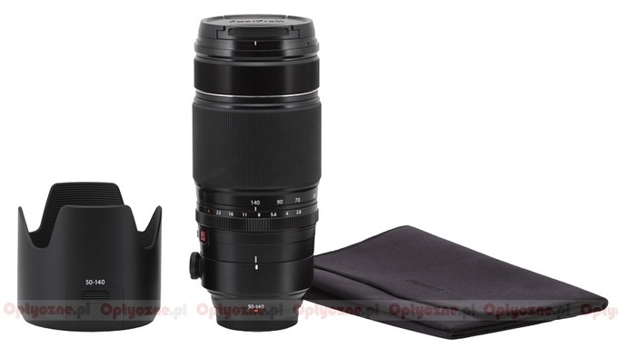 Fujifilm Fujinon XF 50-140 mm f/2.8 R LM OIS WR  - Build quality and image stabilization