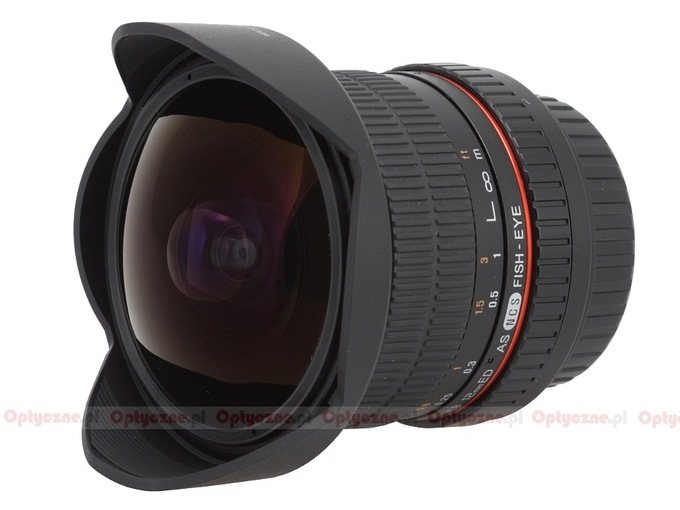 Samyang 12 mm f/2.8 ED AS NCS Fish-eye - Build quality