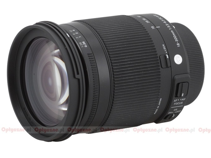 Sigma C 18-300 mm f/3.5-6.3 DC MACRO OS HSM - Build quality and image stabilization