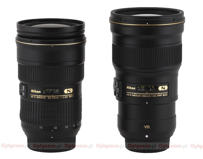 Nikon Nikkor AF-S 300 mm f/4E PF ED VR - Build quality and image stabilization