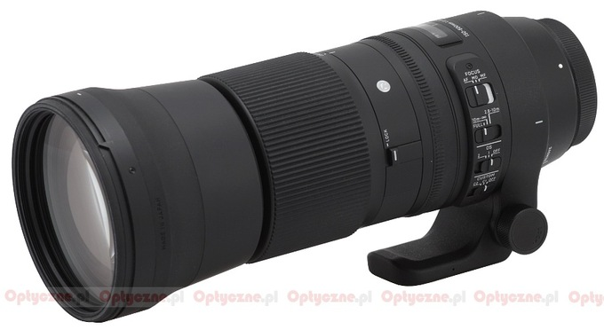 Sigma C 150-600 mm f/5-6.3 DG OS HSM - Build quality and image stabilization