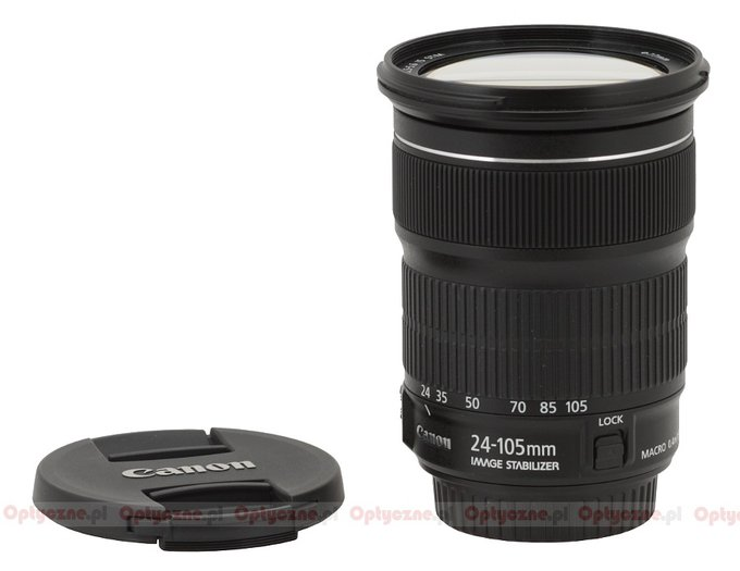 Canon EF 24-105 mm f/3.5-5.6 IS STM - Build quality and image stabilization