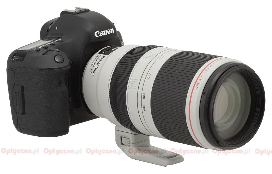 Canon Ef 100 400 Mm F 4 5 5 6l Is Ii Usm Review Introduction Lenstip Com