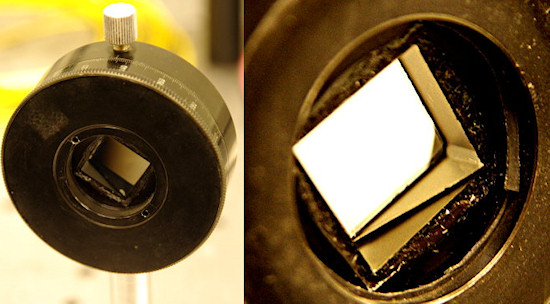Polarizing filters test - About light and polarization