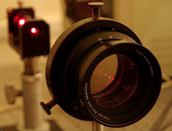 Polarizing filters test - Test procedure