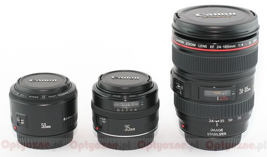 Canon EF 24-105 mm f/4L IS USM - Build quality and image stabilization