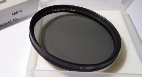 Polarizing filters test - B+W KSM C-POL MRC 72 mm