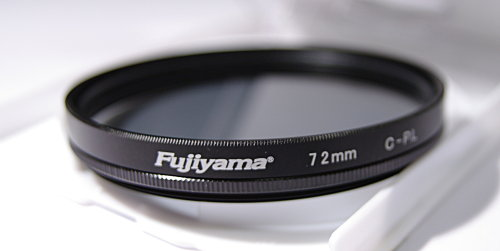Polarizing filters test - Fujiyama Digital CPL 72 mm