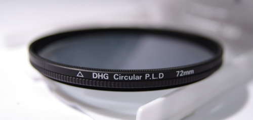 Polarizing filters test - Fujiyama Digital DHG Circular P.L.D. 72 mm