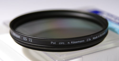 Polarizing filters test - Heliopan ES Pol circ. Kasemann 72 mm